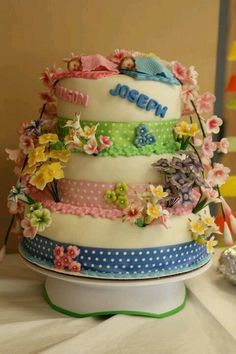 #Babyshower #cake. My favorite!