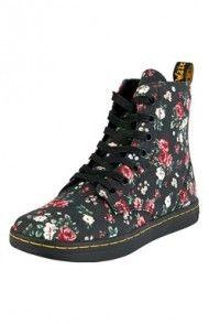 Buty (czarny/w kwiaty)
