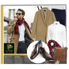 Paul Parkman - Men's shoes and belts by monmondefou on Polyvore featuring ファッション, H&M, J.Crew, TheLees, Impulse and Ray-Ban