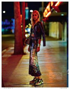 Elle Australia December 2014 Dreams Photo: Billy Kidd Model: Sanna Backstrom
