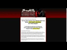 This is a review of the Insider Niche Marketing product
