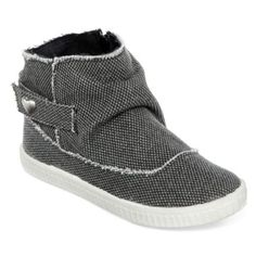 Sporty ankle booties like these girls' casual shoes show off a sense of fun style. A soft, flexible outsole