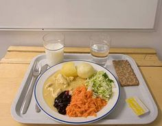 Finnish School food Recommendations to comply with the Finnish official nutritional recommendations and are based on plate form.- Kouluruokailu – Wikipedia