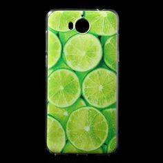 Coque Huawei Y6 2017 - Citrons Verts