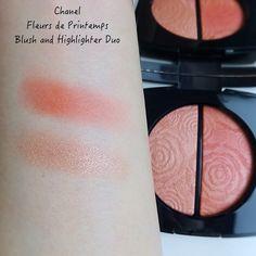 Chanel Spring-Summer 2021 Collection | Les Fleurs de Chanel | Lenallure Blush, Chanel Spring, Swatch, Spring Summer, Collection, Blusher Brush, Blushes