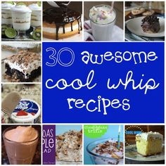 30 Awesome Cool Whip Recipes - Something Swanky