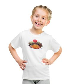 Hedgehog T-shirt with autograph