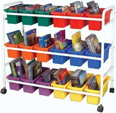 Create-a-Cart Frame - Add your own colorful configuration of tubs to this cart  to make it your very own!