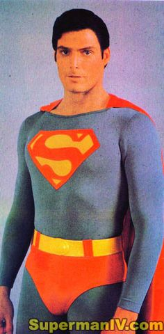 Christopher Reeve as Superman Superman IVThe Quest For Peace