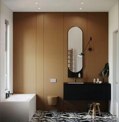 Design Bathroom, Bathroom Interior, Modern Bathrooms, Sweet Home, Art Deco, House, Inspiration, Apartment Bathroom Design, Trends