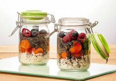 Overnight oats (potinhos de aveia)