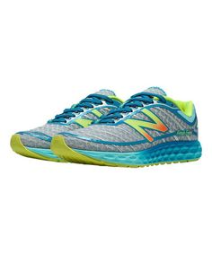 Look what I found on #zulily! Gray & Blue 980v2 Running Shoe - Women #zulilyfinds