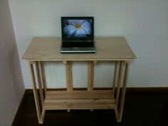 DIY pallet desk with instructions