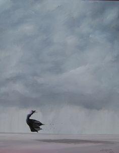 paweł widera /ostatni taniec/ original acrylic paintings art