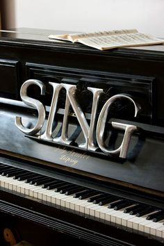 ♫ Sing to the Lord Rashell! You should do this with your piano