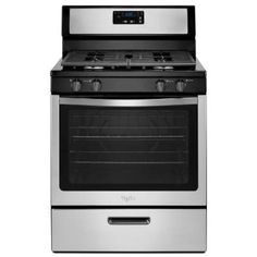 Whirlpool 5.1 cu. ft. Gas Range in Stainless Steel-WFG320M0BS - The Home Depot  BEST REVIEWED $590