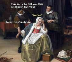 More memes, funny videos and pics on Renaissance Memes, Medieval Memes, Art History Memes, Art History Lessons, Funny History, Funny Art, Funny Memes, Hilarious, Funny Videos