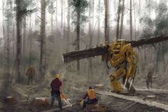 20 Jakub Rozalski Paintings where Interwoven Past Future and Fantasy
