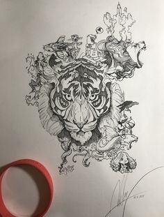 New Cats Sketch Evil 33 Ideas Animal Sketches, Animal Drawings, Art Sketches, Art Drawings, Tiger Sketch, Cat Sketch, Tiger Tattoo, Lion Tattoo, Tiger Art