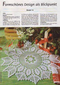 Dekoratives Hakeln Sonderheft - DE 250 Filethakeln - Kristina Dalinkevičienė - Picasa Web Albums