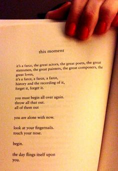 This Moment by Charles Bukowski