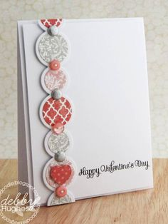 Card by Debby Hughes  (020912)  [Papertrey Ink  Simple Circles Border]