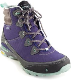 Incredibly lightweight yet very supportive, the women's Ahnu Sugarpine waterproof hiking boots are ready to cover miles of trails. #REIGifts