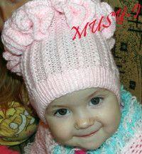 Вяжем спицами детям: шапки