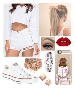 """""""Untitled #101"""" by elliethemunchkin on Polyvore featuring beauty, Converse, Lime Crime, Casetify and Accessorize"""