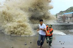 Massive Tidal Waves in China