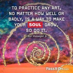 #soul #passiton