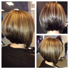 Tapered Back View Of Bob Hairstyles