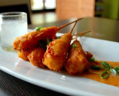 Love, love, love, Haven's Shrimp Corn Dogs! They'll be sampling at the Houston Press Menu of Menus Extravaganza on April 17th at Silver Street Station. Use promocode: FOODIE for discounted tickets. www.menuofmenus.com