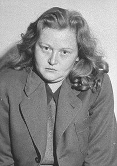 "Nazi Women: 10 Monstrous Female Nazi War Criminals - EnkiVillage.  Ilse Koch, ""Beast or Witch of Buchenwald."""