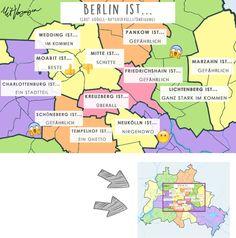 """""""Mitte ist Schitte"""" – Das weiß Google über Berlins Bezirke"""