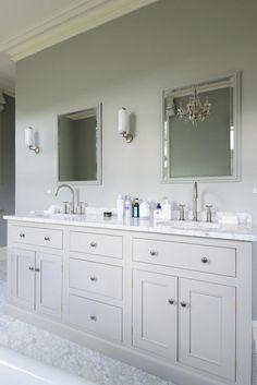 The beautiful South Downs bathroom by deVOL Diy Bathroom, Family Bathroom, Small Bathroom, Bathroom Sinks, Bathroom Vanity Units, Bathroom Quotes, Bathroom Remodeling, Remodeling Ideas, Bathroom Lighting