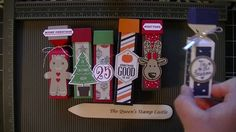 Stampin' Up! Life Saver, Chapstick, and Hershey Kisses Boxes