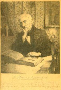San Martín en sus últimos años de vida, W. Dohme