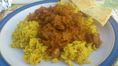 home made Lamb dopiaza. Recipe from hairy bikers great curries book
