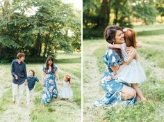 spring and summer family session outfit inspiration | navy blue shirts, baby blue dress, and floor-length blue floral wrap dress | family session posing inspiration | Philadelphia family mini-session photographer | Alison Dunn Photography Family Photo Outfits, Family Photos, Couple Photos, Baby Blue Dresses, Navy Blue Shirts, Wrap Dress Floral, Mini Sessions, Family Photographer, Spring Outfits