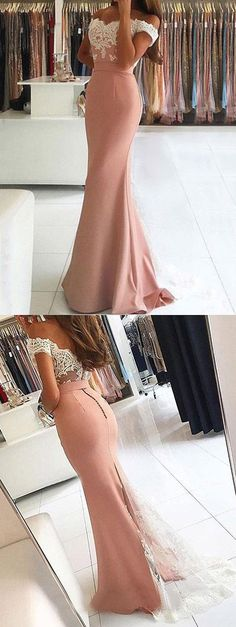 Sexy Prom Dresses Off-the-shoulder Long Short Train Prom Dress/Evening Dress JKL206