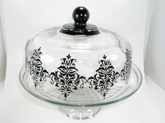 Beautiful dome!!!  It can be done with paint that work on glass.