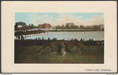 Canoe Lake, Southsea, Hampshire, c.1905 - Postcard