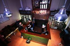 Euston Tap - the best small bar in London? Probably. And it's a quality picture thanks to one of the best pub photographers in the UK, Robert Gale