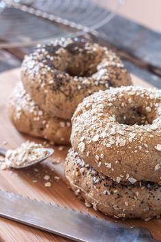 Pains bagels complets | Objectif : Zéro Miette!