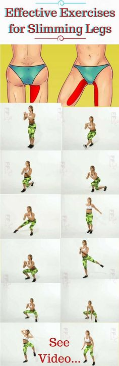Effective Exercises for Slimming Legs Pinterest: @annahpyra