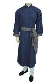 Tang-Zhuang, mandarin collar, sash, Manchurian fashion