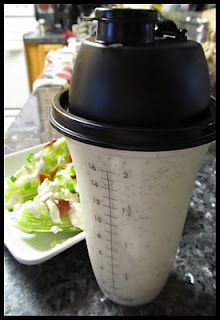 Pioneer woman's homemade ranch dressing. Think I can make a low fat version and still taste good.