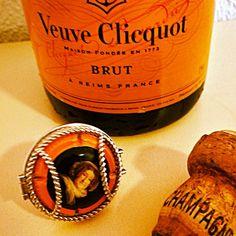 Veuve Clicquot, WearingMemories, cork @TeamWhites photo