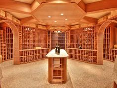ultimate wine cellar with 13200 bottle capacity awesome portable wine cellar